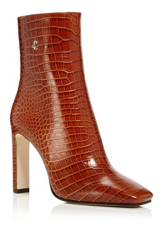 Jimmy Choo Women's Minori 100 High-Heel Booties