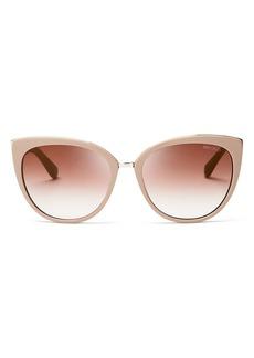 Jimmy Choo Women's Mirrored Dana Cat Eye Sunglasses, 56mm