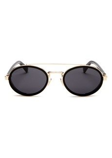 Jimmy Choo Women's Tonie Brow Bar Oval Sunglasses, 51mm