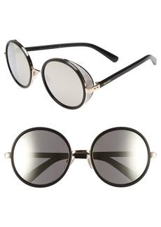 Jimmy Choo'Andies' 54mm Round Sunglasses