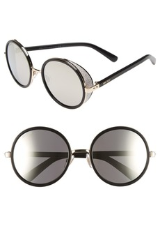 Jimmy Choo 'Andies' 54mm Round Sunglasses