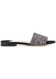 Jimmy Choo Jonie glitter sandals