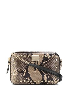 Jimmy Choo Josie snake-effect bag