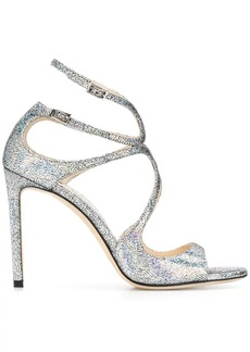 Jimmy Choo Lang 100mm strappy sandals