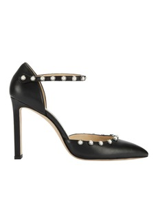 Jimmy Choo Leema Pearl-Studded Pumps