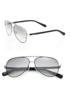 Jimmy Choo Linas 59MM Metal Aviator Sunglasses