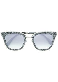 Jimmy Choo Lizzy 63 crystal embellished sunglasses