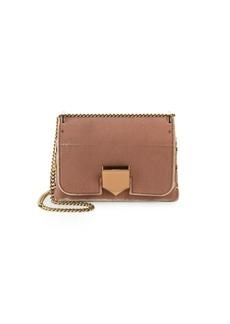 Longchamp Locket Petite Velvet Crossbody Bag