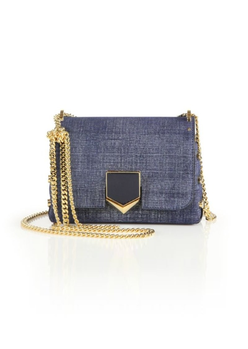 0e72a9089ed Jimmy Choo Lockett Petite Denim Crossbody Bag | Handbags