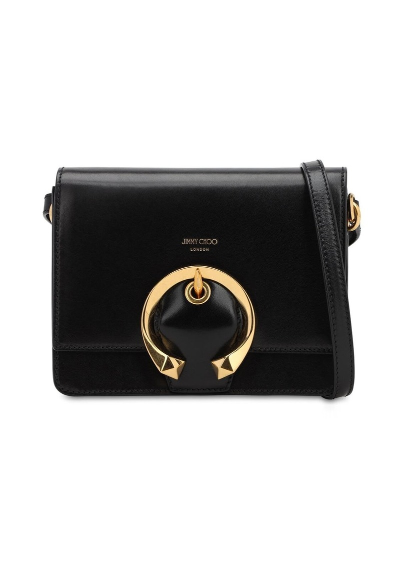 Jimmy Choo Madeline Grained Leather Bag