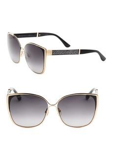Maty 58MM Square Sunglasses