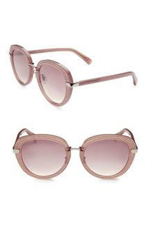 Jimmy Choo Moris 52MM Round Sunglasses