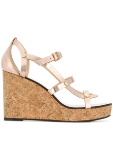 Jimmy Choo Nerissa 100 wedge sandals
