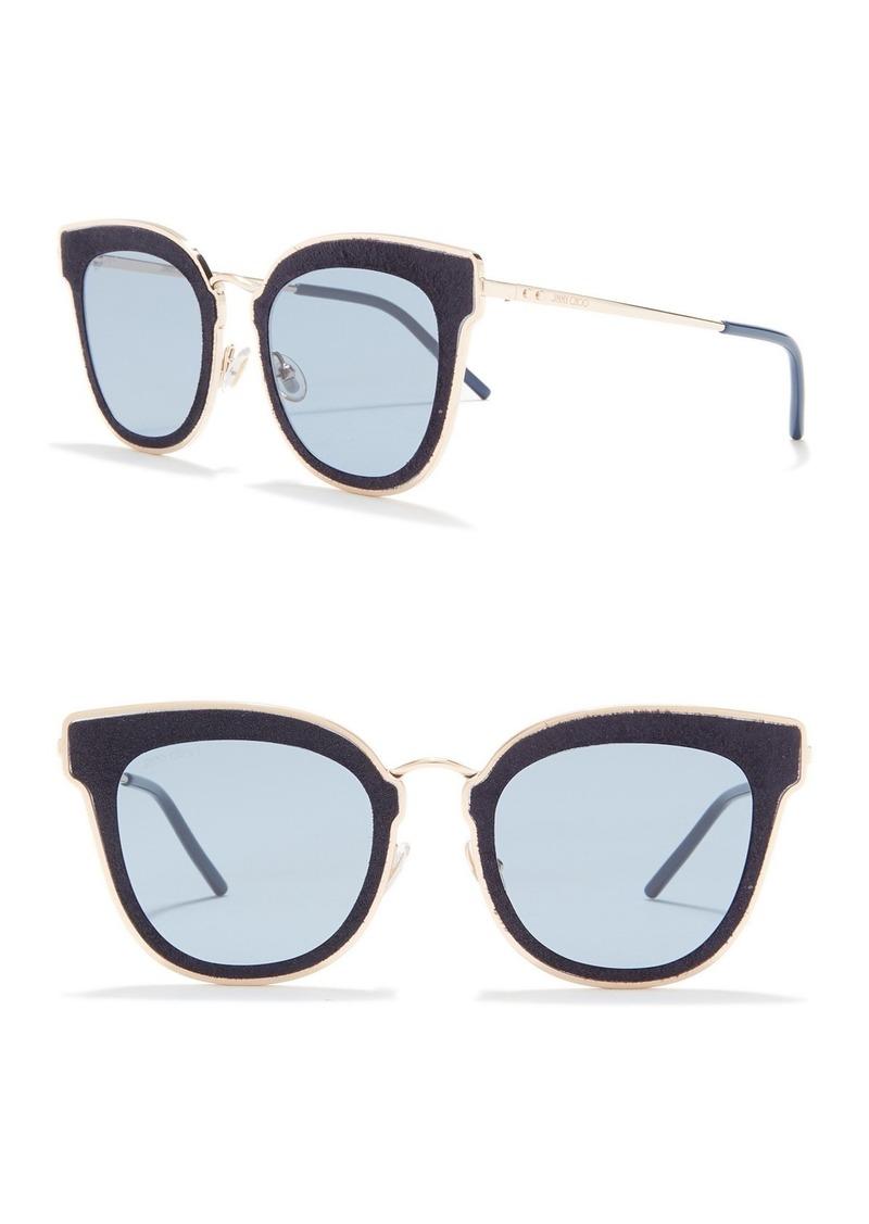 Jimmy Choo Nile 63mm Cat Eye Sunglasses