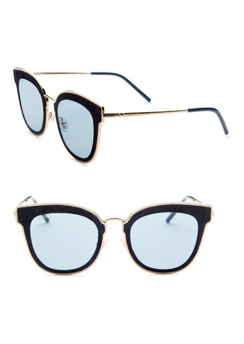 9a3fc67e5de Jimmy Choo Niles Leather Panthos Sunglasses | Sunglasses
