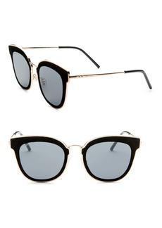 Niles Leather Panthos Sunglasses