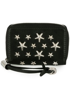 Jimmy Choo Noella zip around wallet