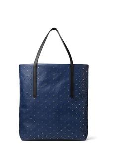 Jimmy Choo Pimlico star studded tote bag