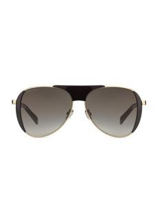 Jimmy Choo Raves 56MM Pilot Sunglasses