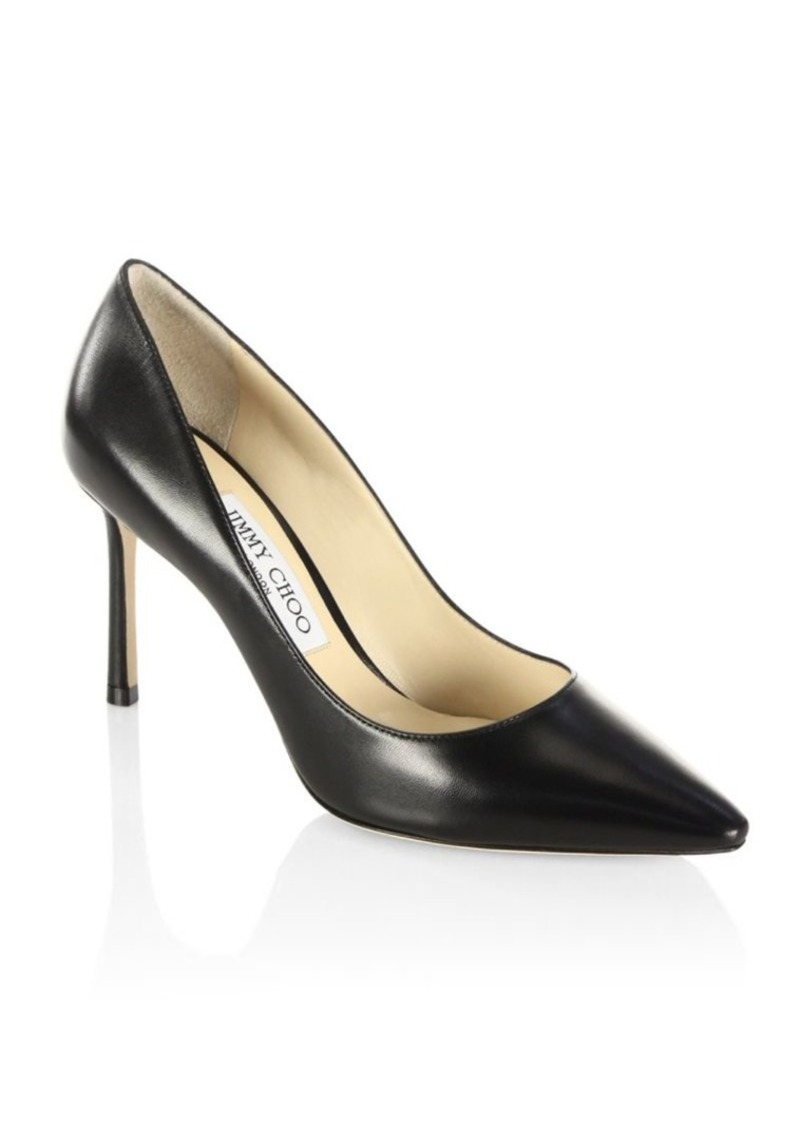 Jimmy Choo Romy Leather Pumps