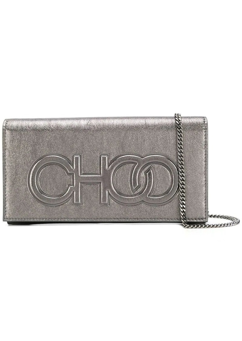 Jimmy Choo Santini clutch bag