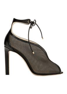 Jimmy Choo Sayra Mesh High Sandals