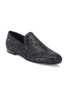 Jimmy Choo Sloane Glitter Slippers