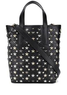 Jimmy Choo star appliqué tote bag