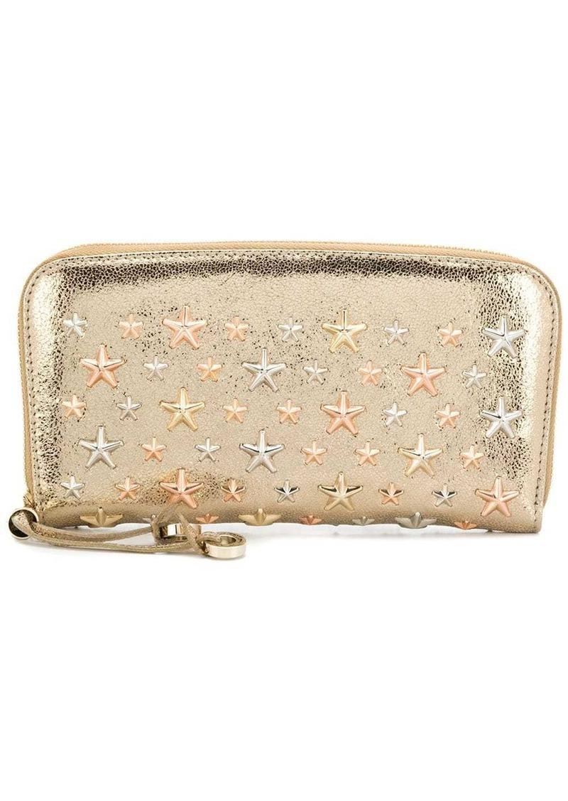 Jimmy Choo star zipped purse
