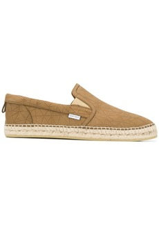 Jimmy Choo textured espadrilles