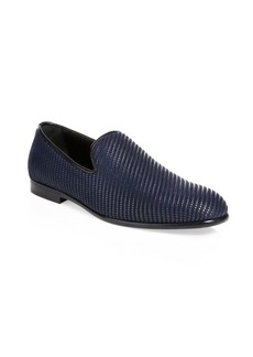 Jimmy Choo Woven Evening Slippers
