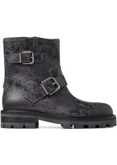 Jimmy Choo Youth II buckled ankle boots