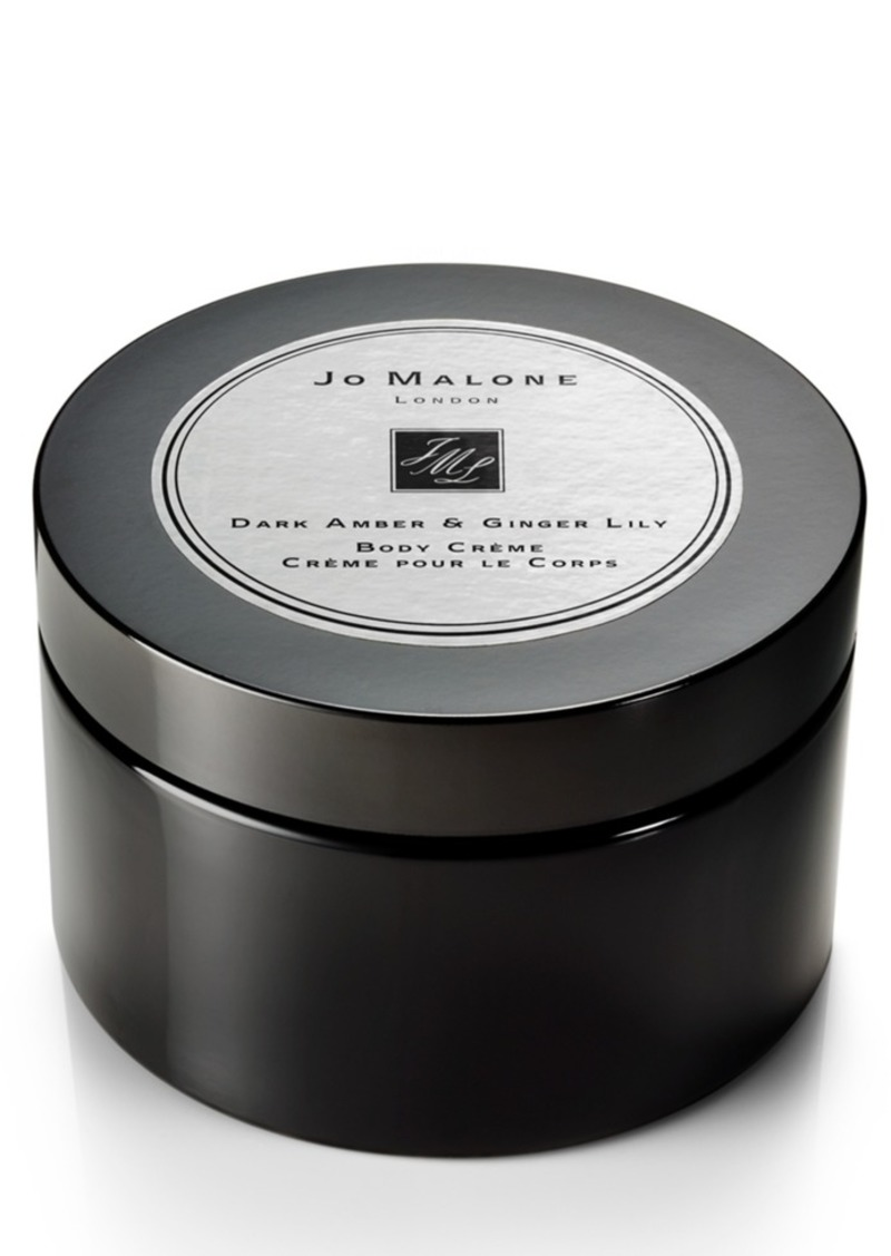 Jo Malone London Dark Amber & Ginger Lily Body Creme, 5.9-oz.