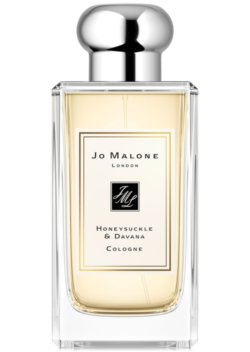 Jo Malone London Honeysuckle & Davana Cologne, 3.4-oz.