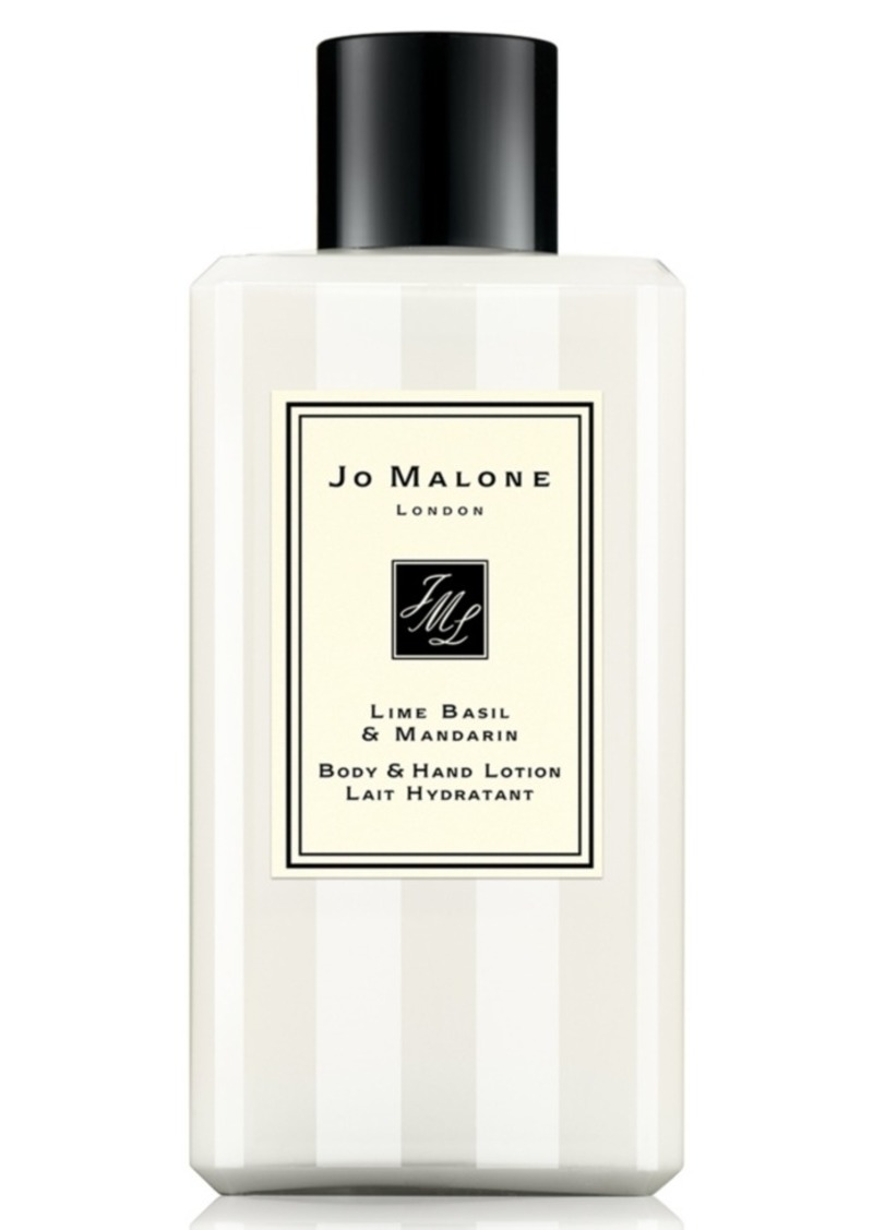 Jo Malone London Lime Basil & Mandarin Body & Hand Lotion, 3.4-oz.