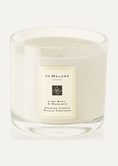Jo Malone London Lime Basil and Mandarin Scented Deluxe Candle 600g