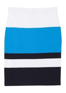Joan Vass Bold Stripe Skirt