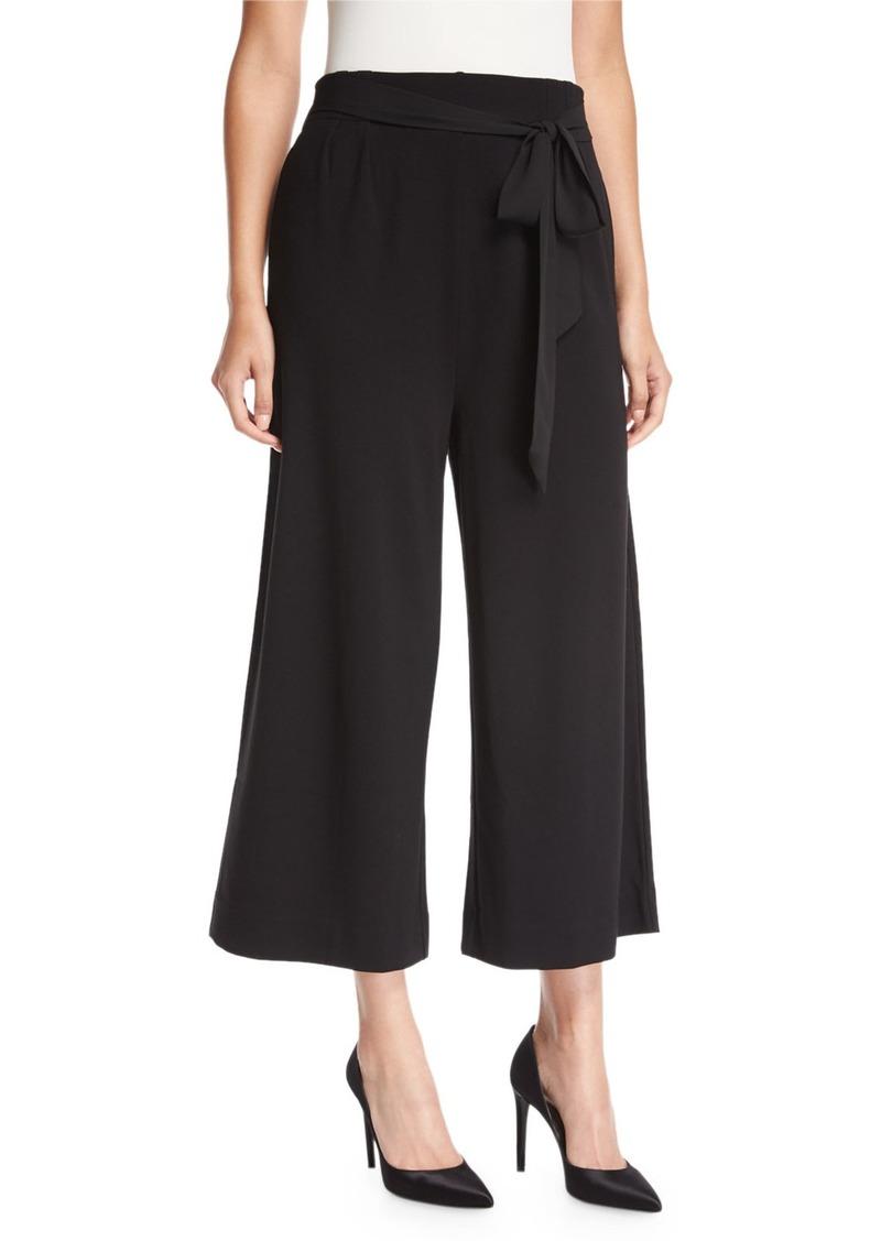 Joan Vass Lightweight Ponte Culotte Pants