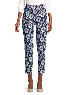 joan vass Printed Cropped Trousers
