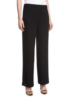 Joan Vass Rochelle Wide-Leg Pants