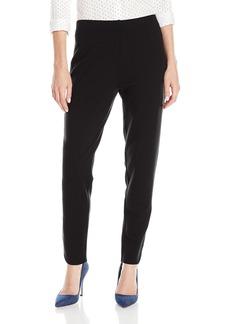 Joan Vass Women's Ankle Detailed Pant