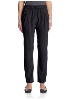 Joan Vass Women's Drape Pocket Pant   US