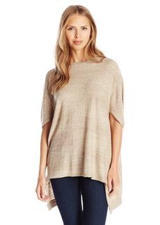 Joan Vass Women's Oversized Seamed Sweater