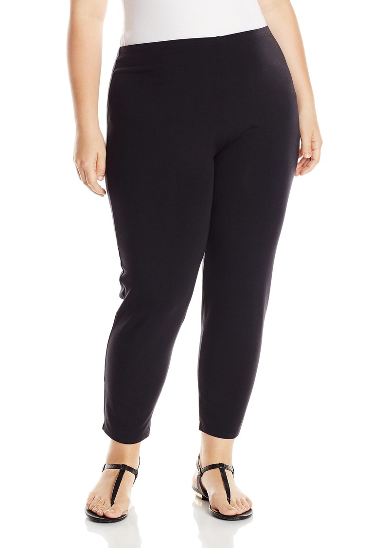 Joan Vass Women's Plus Size Cropped Legging