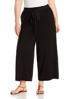 Joan Vass Women's Plus Size Culottes  2X