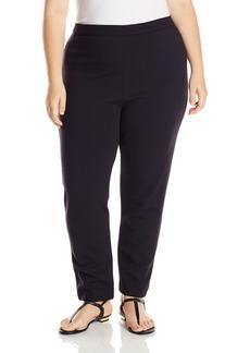 Joan Vass Women's Plus-Size Ponte Pant