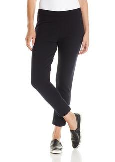 Joan Vass Women's Ponte Ankle Pant