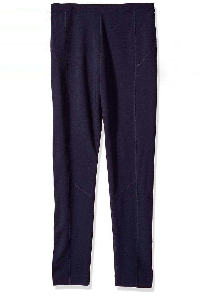 Joan Vass Women's Seamed Ponte Pant  XL