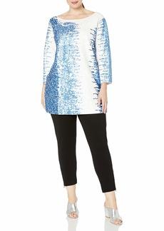 Joan Vass Women's Sequin Tunic  L