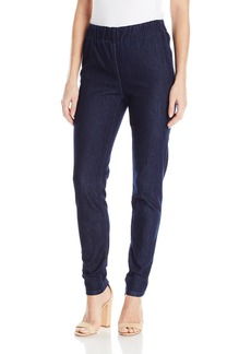 Joan Vass Women's Slim Ankle Demim Stretch Jean  L